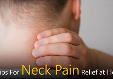 Neck pain relief at home