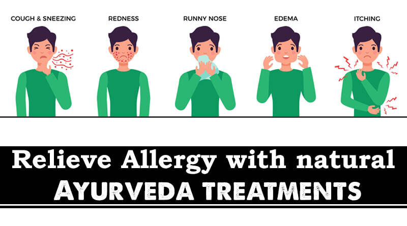 Relieve allergy with natural Ayurveda treatments